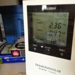 我が家は太陽光発電。だから日中でも電気代がかからない!