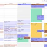スケジュール管理はGoogleカレンダーで